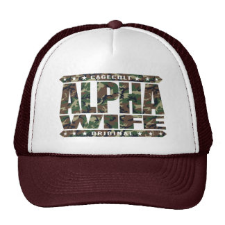 ALPHA WIFE - I'm Faithful To My Yoga Teacher, Camo Trucker Hat