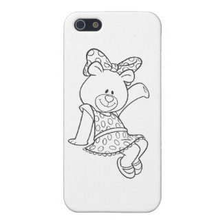 Alpha Xi Delta Bear iPhone SE/5/5s Case