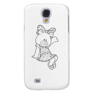 Alpha Xi Delta Bear Samsung S4 Case