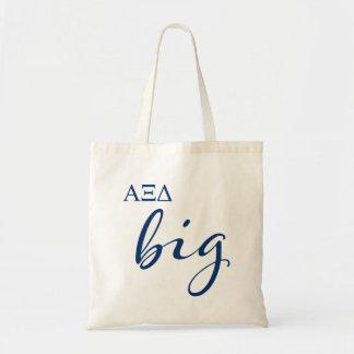 Alpha Xi Delta Big Script Tote Bag