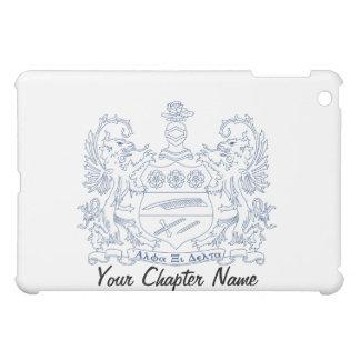 Alpha Xi Delta Crest Blue iPad Mini Cover