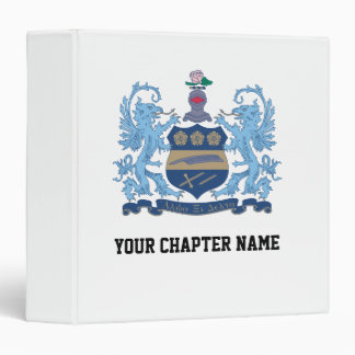 Alpha Xi Delta Crest Color Binder