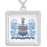 Alpha Xi Delta Crest Color Pendants