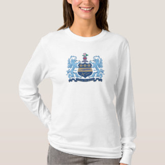 Alpha Xi Delta Crest Color T-Shirt