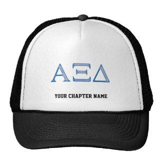 Alpha Xi Delta Letters Hats