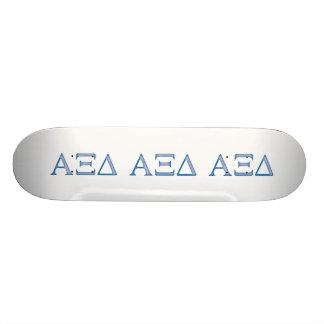 Alpha Xi Delta Letters Skate Decks