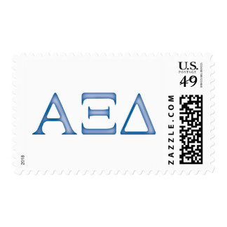 Alpha Xi Delta Letters Stamp