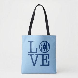 Alpha Xi Delta Love Tote Bag
