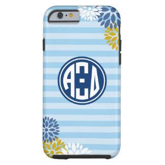 Alpha Xi Delta | Monogram Stripe Pattern Tough iPhone 6 Case