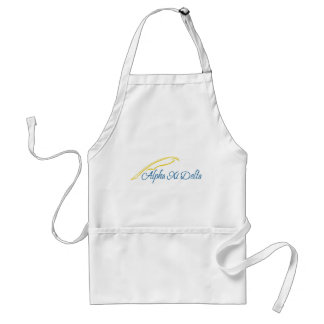 Alpha Xi Delta with Quill Adult Apron