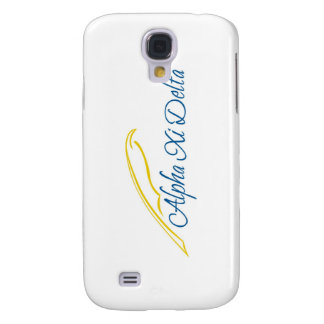 Alpha Xi Delta with Quill Galaxy S4 Cover