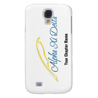 Alpha Xi Delta with Quill Samsung Galaxy S4 Cover