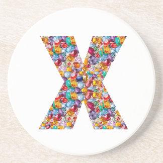 Alpha xxx ooo ttt lll GIFTS Jewel Fashion x o t l Drink Coasters