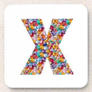 Alpha xxx ooo ttt lll GIFTS Jewel Fashion x o t l Coasters