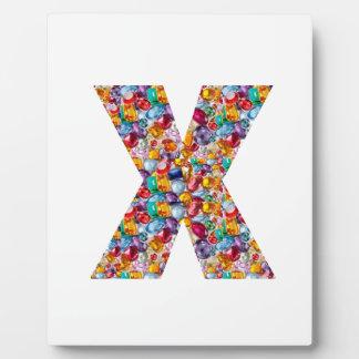 Alpha xxx ooo ttt lll GIFTS Jewel Fashion x o t l Display Plaque