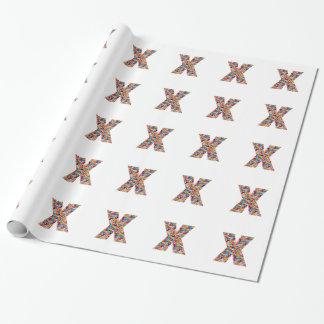 Alpha xxx ooo ttt lll GIFTS Jewel Fashion x o t l Wrapping Paper