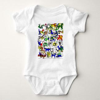 Alphabestiary! Baby Bodysuit