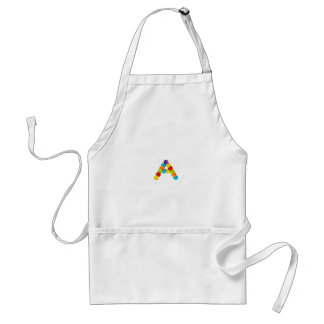 Alphabet A Adult Apron