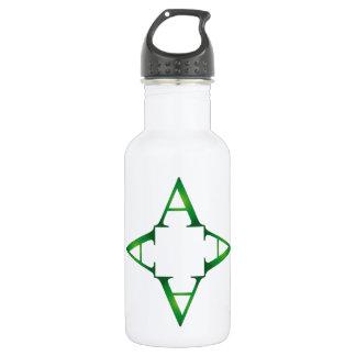 Alphabet A 18oz Water Bottle