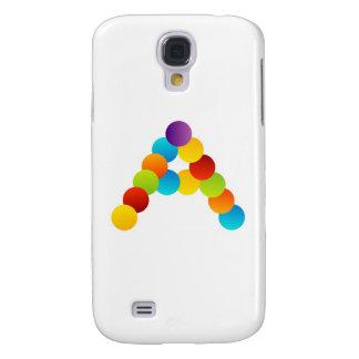 Alphabet A Samsung Galaxy S4 Cover