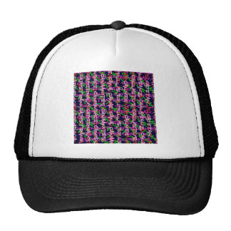 Alphabet alpha art colourful COLORFUL fashion gift Trucker Hat