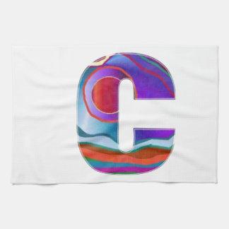 Alphabet ALPHA CCC Hand Towel