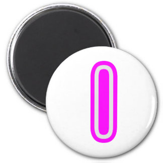 Alphabet ALPHAI III  Name Tag n GIFTS 2 Inch Round Magnet