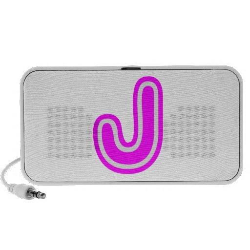 Alphabet ALPHAJ JJJ  Name Identification n GIFTS iPod Speakers