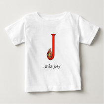 Alphabet Baby T-Shirt: J is for Joey Baby T-Shirt