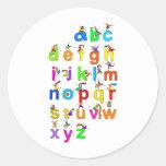 Alphabet Children Stickers