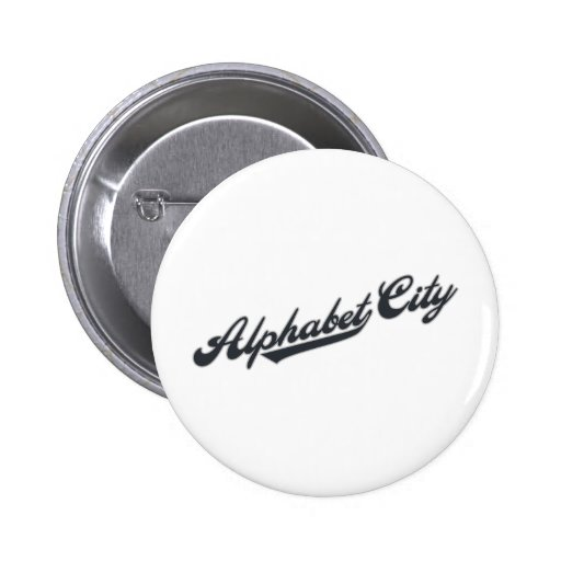 Alphabet City Pin