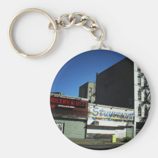 Alphabet City, East Village on a Sunny Day Keychain