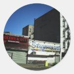Alphabet City, East Village on a Sunny Day Sticker