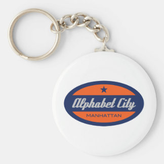 Alphabet City Key Chains