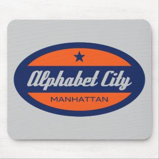 Alphabet City Mouse Pad