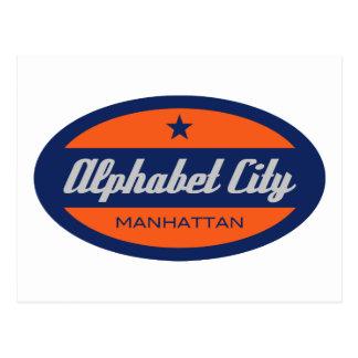 Alphabet City Postcard