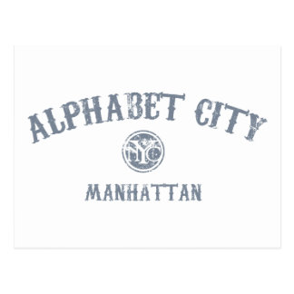 Alphabet City Postcard