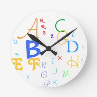 Alphabet Clock #1