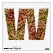 Alphabet Decal - Brains Brainz BRAINZZ Wall Stickers