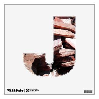 Alphabet Decal - Sandstone Slates