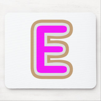 ALPHABET EEE ALPHAE MOUSE PAD