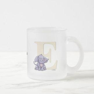Alphabet Elephant Coffee Mugs