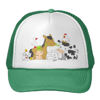 Alphabet Farm-Apparel Trucker Hat