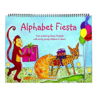 Alphabet Fiesta Calendar