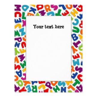 Alphabet Frame Letterhead