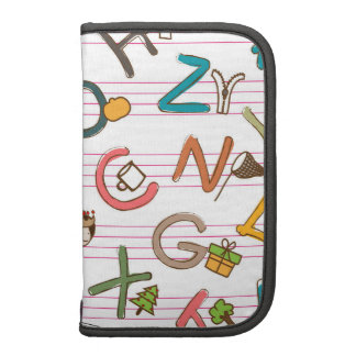 Alphabet Fun Letters & Graphics Planners