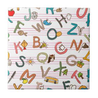 Alphabet Fun Letters & Graphics Tile