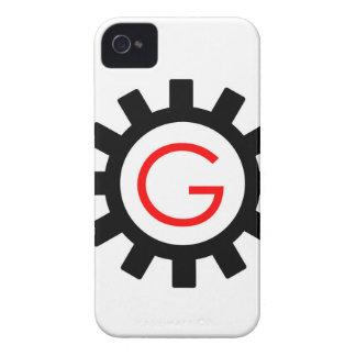 Alphabet G in gear iPhone 4 Case-Mate Case