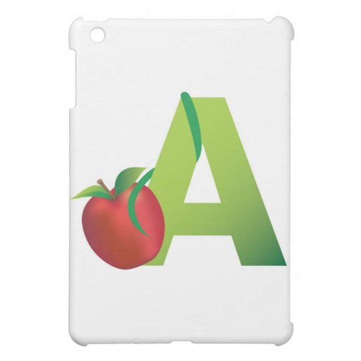 alphabet iphone and ipad case
