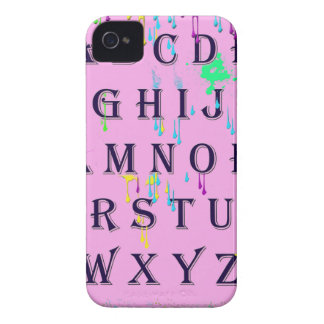 alphabet.jpg iPhone 4 Case-Mate case